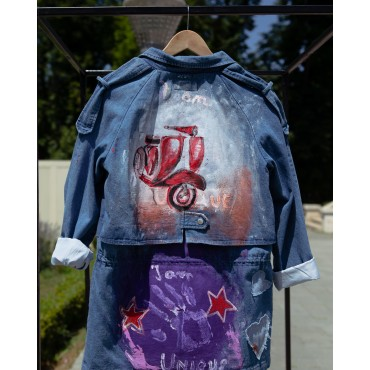 Denim jacket CF018