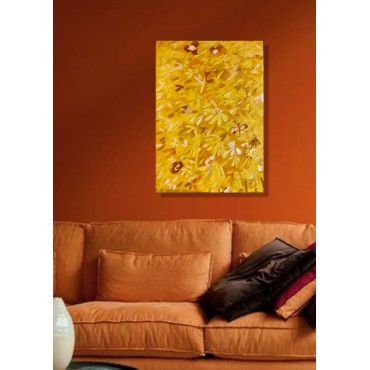 PEACEFUL GOLDEN PAINTING